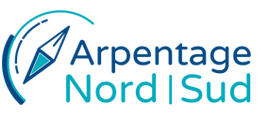 logo arpentage nord sud auclair drolet
